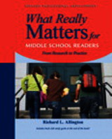 What Really Matters For Middle School Readers - Allington, Richard - ISBN: 9780205393190