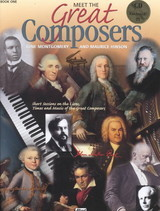 Meet The Great Composers  Book 1 - Montgomery, June/ Hison, Maurice - ISBN: 9780882848556