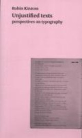 Unjustified Texts - Kinross, Robin - ISBN: 9780907259176