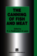 Canning Of Fish And Meat - Footitt, R. J. (EDT)/ Lewis, A. S. (EDT) - ISBN: 9781461358800