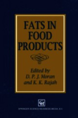 Fats In Food Products - Moran, D. P. (EDT) - ISBN: 9781461358848