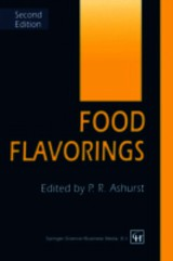Food Flavorings - Ashurst, P. R. - ISBN: 9781461359036