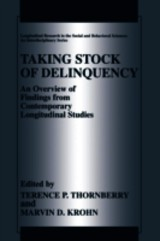 Taking Stock Of Delinquency - Thornberry, Terence P. (EDT)/ Krohn, Marvin D. (EDT) - ISBN: 9781475778052