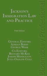 Jackson's Immigration Law And Practice - Yeo, Colin (EDT)/ Ryan, Bernard (EDT)/ Warr, George (EDT) - ISBN: 9781847665461