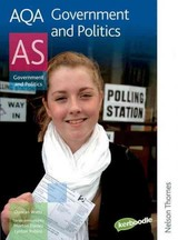 Aqa Government And Politics As - Watts, Duncan/ Robins, Lynton (EDT)/ Davies, Morton (EDT) - ISBN: 9780748798216