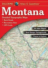 Montana Atlas & Gazetteer - Delorme - ISBN: 9780899333397