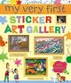 My Very First Sticker Art Gallery - Lake, Sam - ISBN: 9781409564133