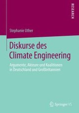Diskurse Des Climate Engineering - Uther, Stephanie - ISBN: 9783658053659