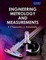 Engineering Metrology And Measurements - Raghavendra, N. V.; Krishnamurthy, L. - ISBN: 9780198085492