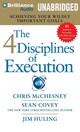 The 4 Disciplines Of Execution - Mcchesney, Chris/ Covey, Sean/ Huling, Jim - ISBN: 9781491517758