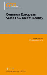 Common European Sales Law Meets Reality - ISBN: 9783866532700