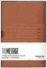Message Personal Size Saddle Tan Leather - Peterson, Eugene H - ISBN: 9781612918198