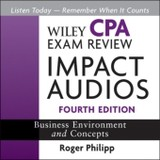 Wiley CPA Exam Review Impact Audios, Audio-CD - Philipp, Roger - ISBN: 9780470767788