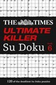 Times Ultimate Killer Su Doku Book 6 - The Times Mind Games - ISBN: 9780007580767