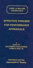 Effective Phrases For Performance Appraisals - Neal, James E., Jr. - ISBN: 9781882423132