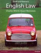 Smith And Keenan's English Law - Weinstein, Stuart; Wild, Charles - ISBN: 9781408295274