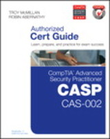 Comptia Advanced Security Practitioner Casp Cas-002 Authorized Cert Guide - Abernathy, Robin/ McMillan, Troy - ISBN: 9780789754011