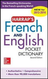 Harrap's French And English Pocket Dictionary - Harrap - ISBN: 9780071814454