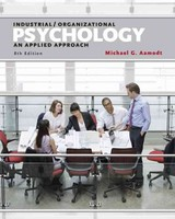 Industrial/organizational Psychology - Aamodt, Michael (radford University) - ISBN: 9781305118423