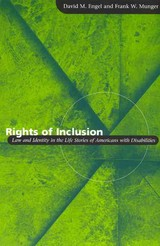 Rights Of Inclusion - Munger, Frank W.; Engel, David M. - ISBN: 9780226208336