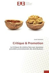 Critique Promotion - Rashidian-s - ISBN: 9783838186962