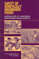 Safety Of Genetically Engineered Foods - National Academy of Sciences; National Research Council; Division On Earth ... - ISBN: 9780309092098