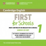 Cambridge English First For Schools 1 For Revised Exam From 2015 Audio Cds (2) - ISBN: 9781107669079