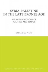 Syria-palestine In The Late Bronze Age - Pfoh, Emanuel - ISBN: 9781844657841