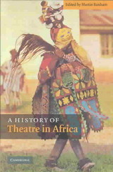 A History of Theatre in Africa - ISBN: 9780521808132