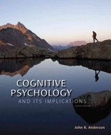 Cognitive Psychology And Its Implications - Anderson, John R. - ISBN: 9781464148910