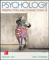 Psychology: Perspectives And Connections (int'l Ed) - Rosenberg, Erika; Feist, Gregory - ISBN: 9781259255755