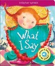 What I Say - AZ Books, LLC (COR) - ISBN: 9781618892287