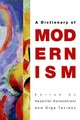 Edinburgh Dictionary Of Modernism - Kolocotroni, Vassiliki (EDT)/ Taxidou, Olga (EDT) - ISBN: 9780748637027