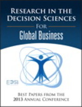 Research In The Decision Sciences For Global Business - European Decision Sciences Institute; Vastag, Gyula - ISBN: 9780134052328