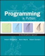 Introduction To Programming In Python - Sedgewick, Robert; Wayne, Kevin; Dondero, Robert - ISBN: 9780134076430