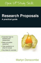 Research Proposals - Denscombe, Martyn - ISBN: 9780335244072