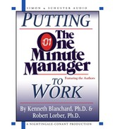 Putting The One Minute Manager To Work - Blanchard, Kenneth H./ Lorber, Robert - ISBN: 9780743525039