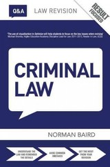 Q&a Criminal Law - Baird, Norman (consultant, University Of London External Laws Programme, Uk) - ISBN: 9781138787162