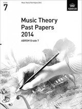 Music Theory Past Papers 2014, Abrsm Grade 7 - Abrsm - ISBN: 9781848497269