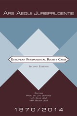 European fundamental rights cases - Malu Beijer - ISBN: 9789069165509