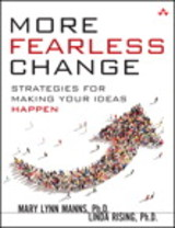 More Fearless Change - Rising, Linda; Manns, Mary Lynn - ISBN: 9780133966442