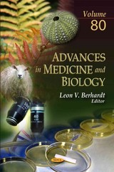 Advances In Medicine & Biology - Berhardt, Leon V. (EDT) - ISBN: 9781633218543