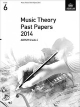 Music Theory Past Papers 2014, Abrsm Grade 6 - ISBN: 9781848497252