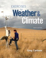 Exercises For Weather & Climate - Carbone, Greg - ISBN: 9780134035666
