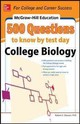 Mcgraw-hill Education 500 College Biology Questions: Ace Your College Exams - Stewart, Robert Stanley - ISBN: 9780071789592
