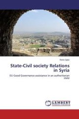 State-civil Society Relations In Syria - Spitz Rene - ISBN: 9783659649561