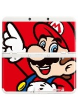 Coverplate Mario New N3DS - ISBN: 0045496510183