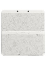 Coverplate Super Mario white New N3DS - ISBN: 0045496510305