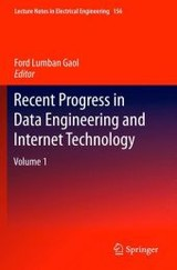 Recent Progress In Data Engineering And Internet Technology - Gaol, Ford Lumban (EDT) - ISBN: 9783642288067