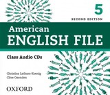 American English File: 5: Class Cd - Latham-koenig, Christina/ Oxenden, Clive - ISBN: 9780194775656